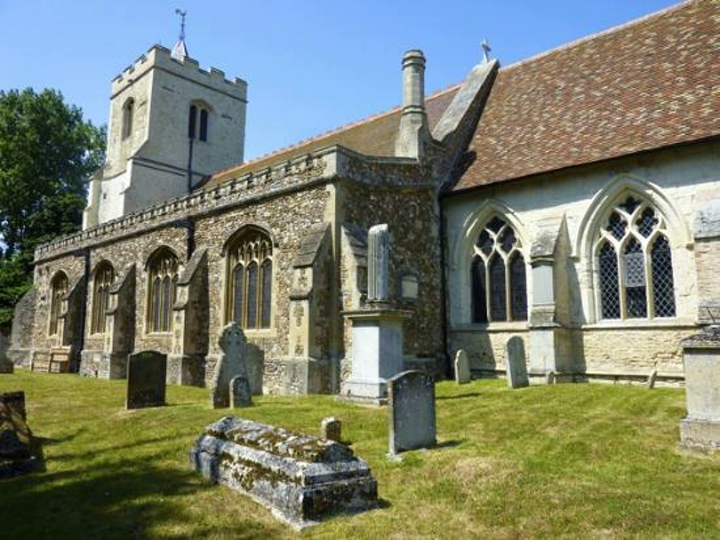 Grantchester, Village, Grantchester village church, English churches