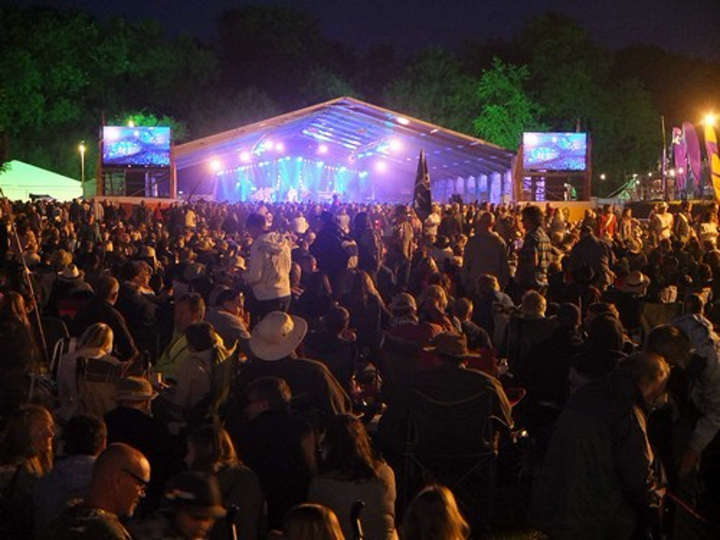 The Cambridge Folk Festival, Cherry Hinton Hall, Cambs