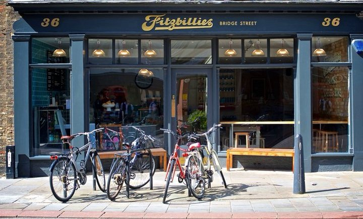 Fitzbillies Cafe, Bridge Street, Cambridge, Chelsea Buns