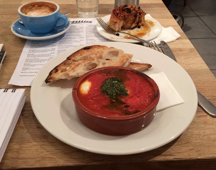 Fitzbillies, Trumpington Street, Cambridge all day breakfasts
