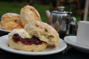 Cream Tea, Orchard Tea Rooms, Grantchester, Cambridgeshire