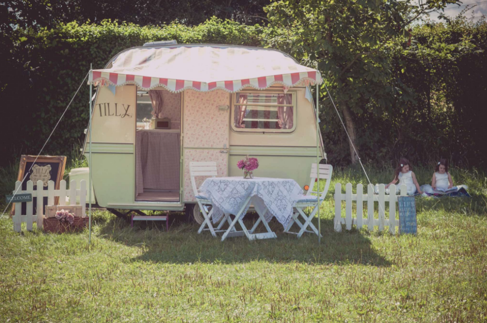 Tilly the Travelling Tearoom