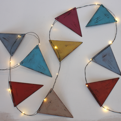 Light Bunting, Dial House Gallery