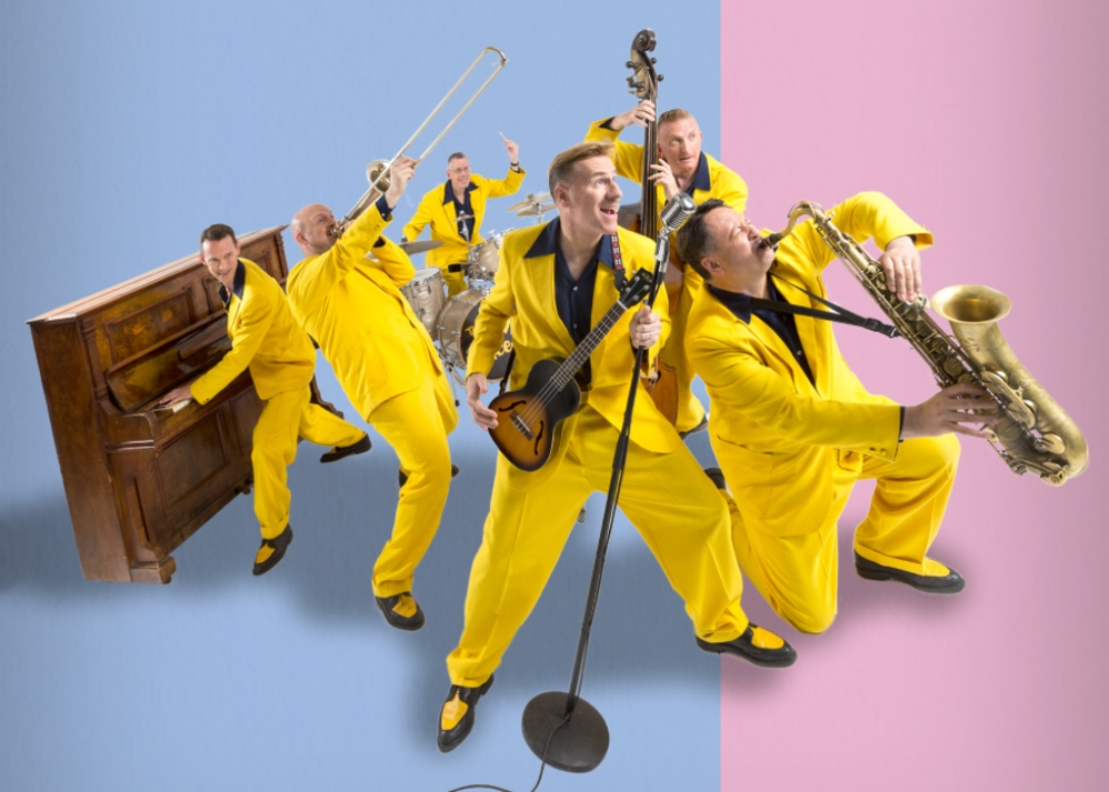 The Jive Aces Key Theatre Peterborough