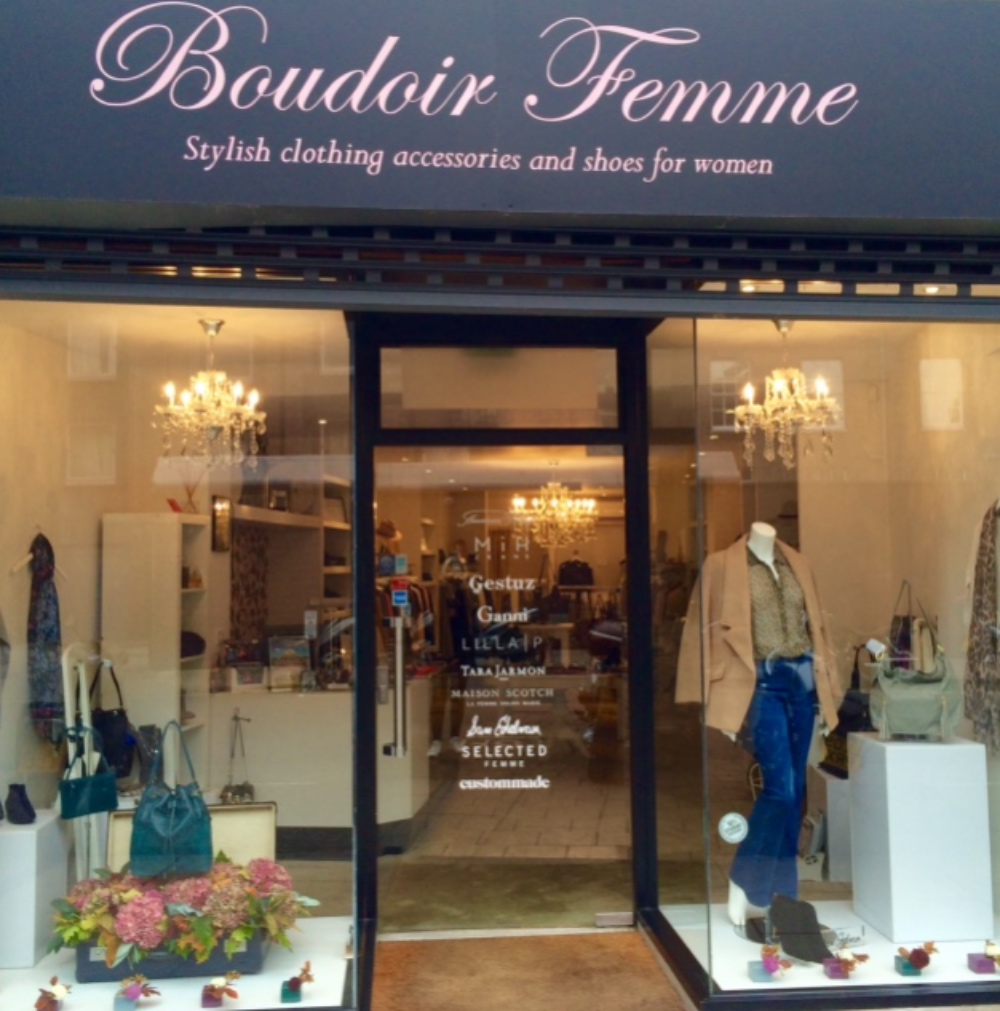 Boudoir Femme, King Street Cambridge