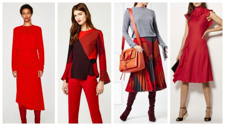 Red Fashion Trends AW17