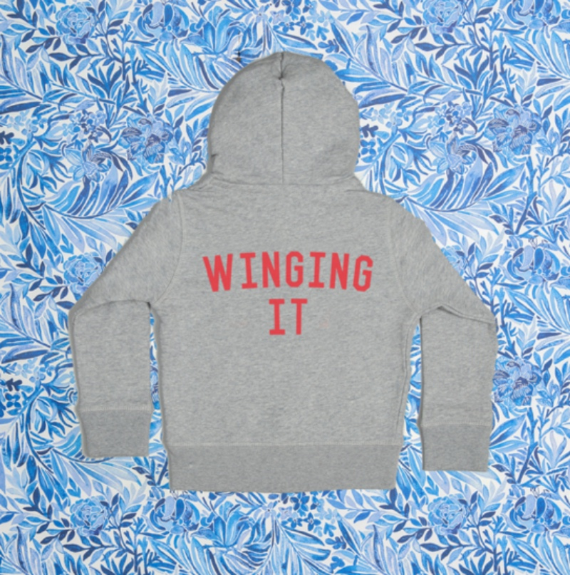 Winging it sweatshirt