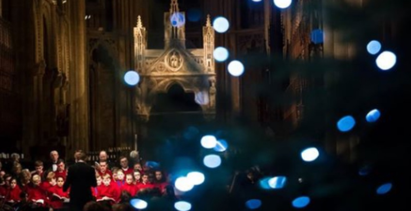Peterborough Cathedral Christmas concert