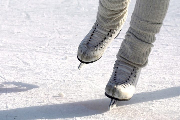 person ice-skating