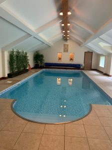 swimming pool at sandpiper spa