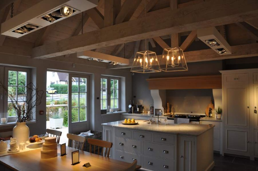 country kitchen interior