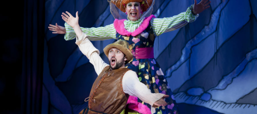 Peter Pan panto at bury st Edmunds