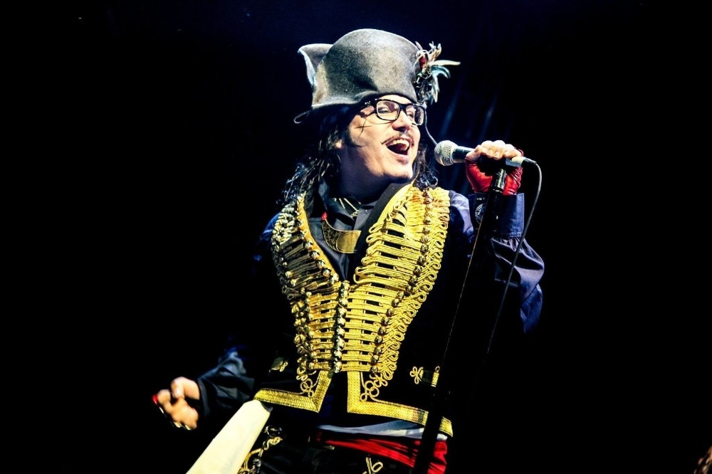 Adam ant at a gig