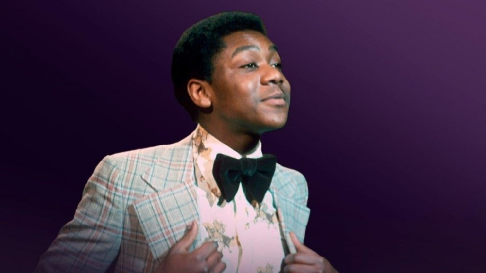 Lenny Henry as a boy on stage