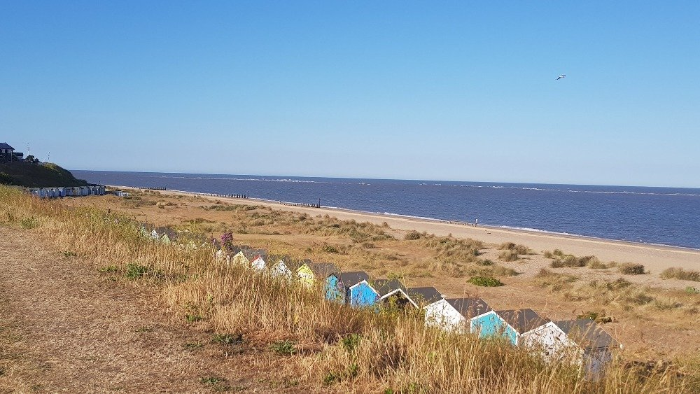 landscape picture of Wakefield beach in lowestoft