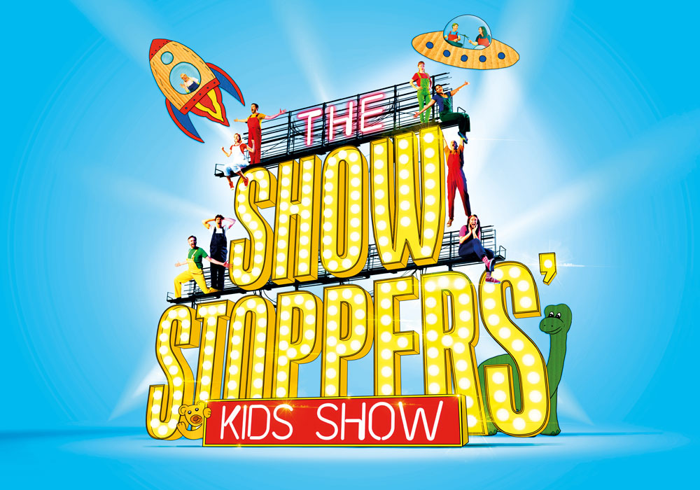 theatre flyer for showstopper kids