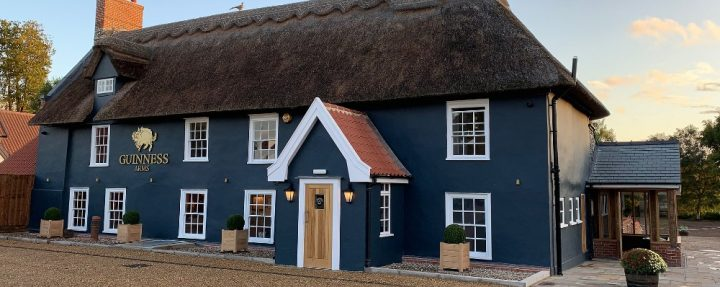 new thatched pub