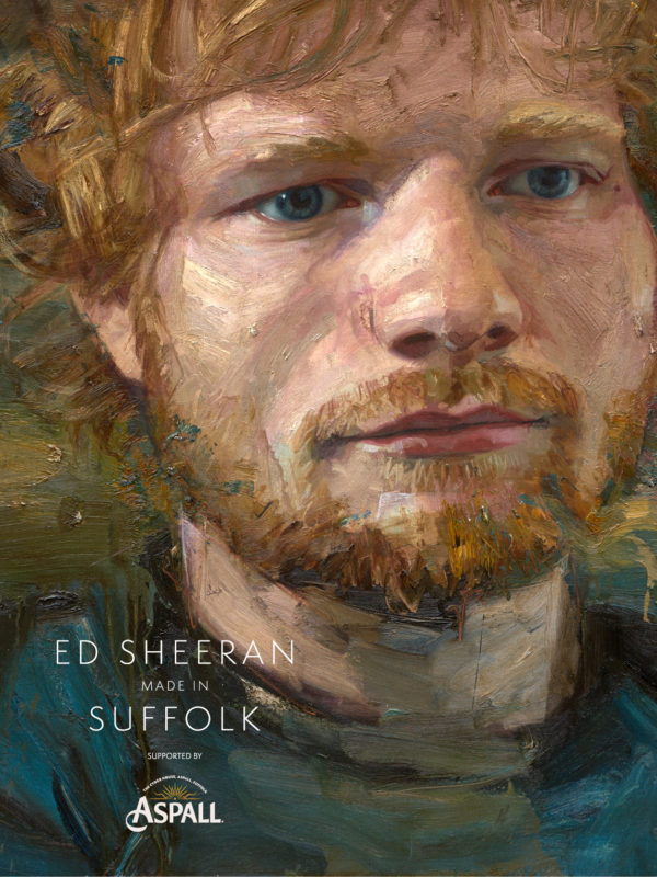 portrait of ed sheeran