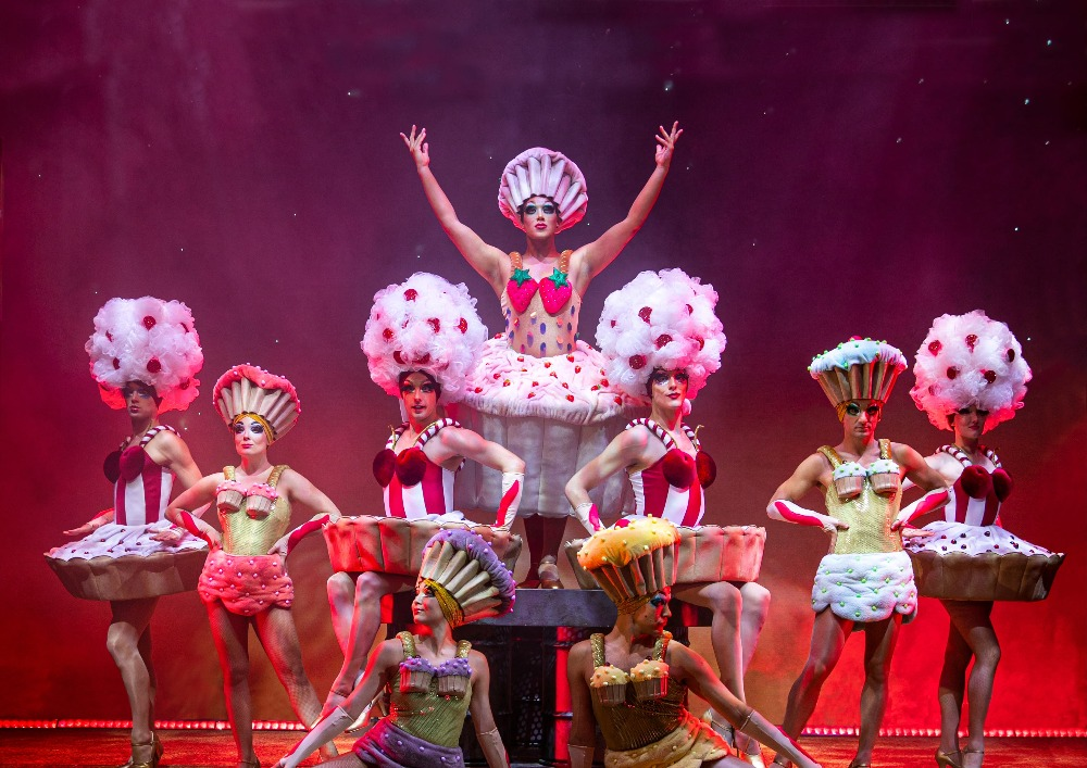 uk tour of Priscilla show