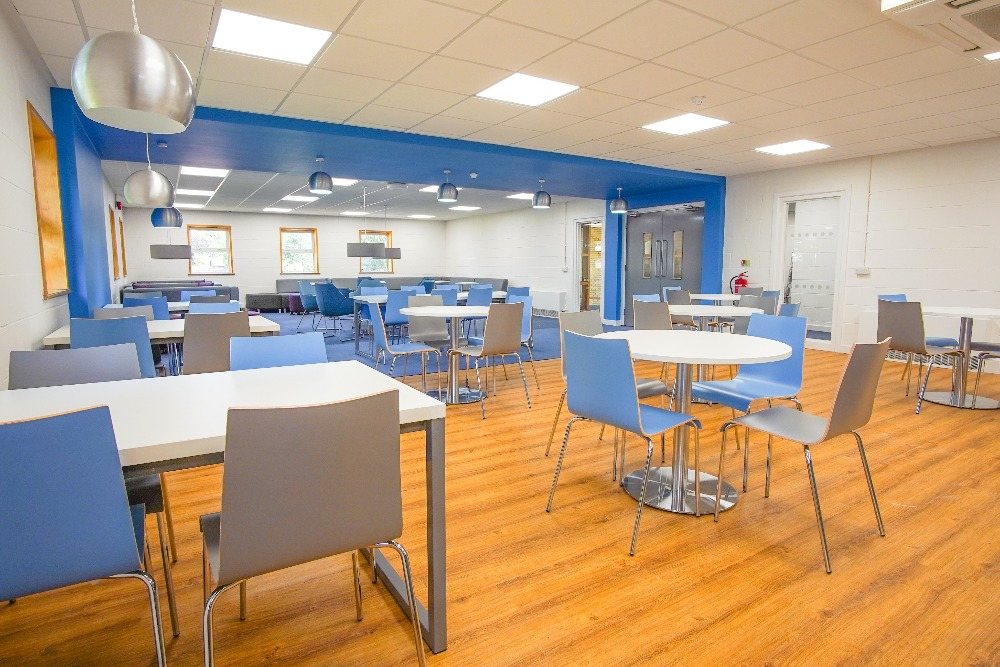The new Sixth Form centre