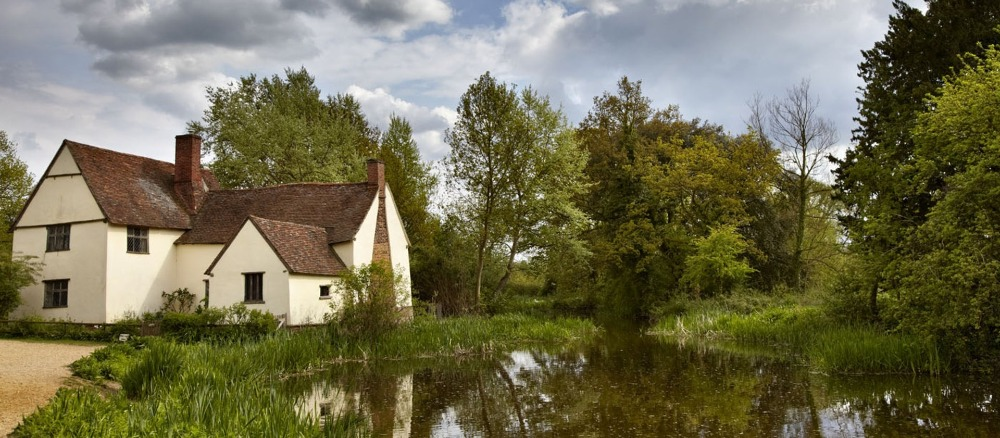 The National Trust flatford mill