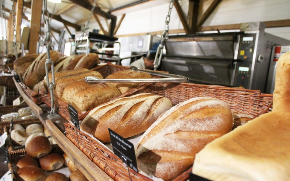 bakeries in Suffolk food hall