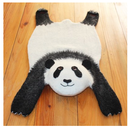 cosy fashion panda