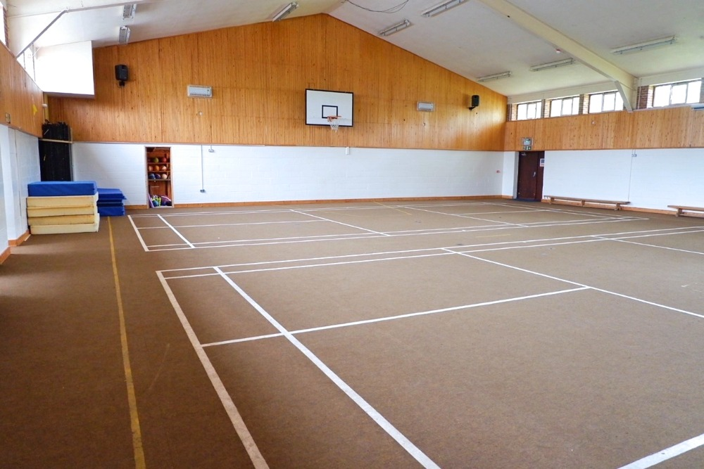 sport hall at stoke college