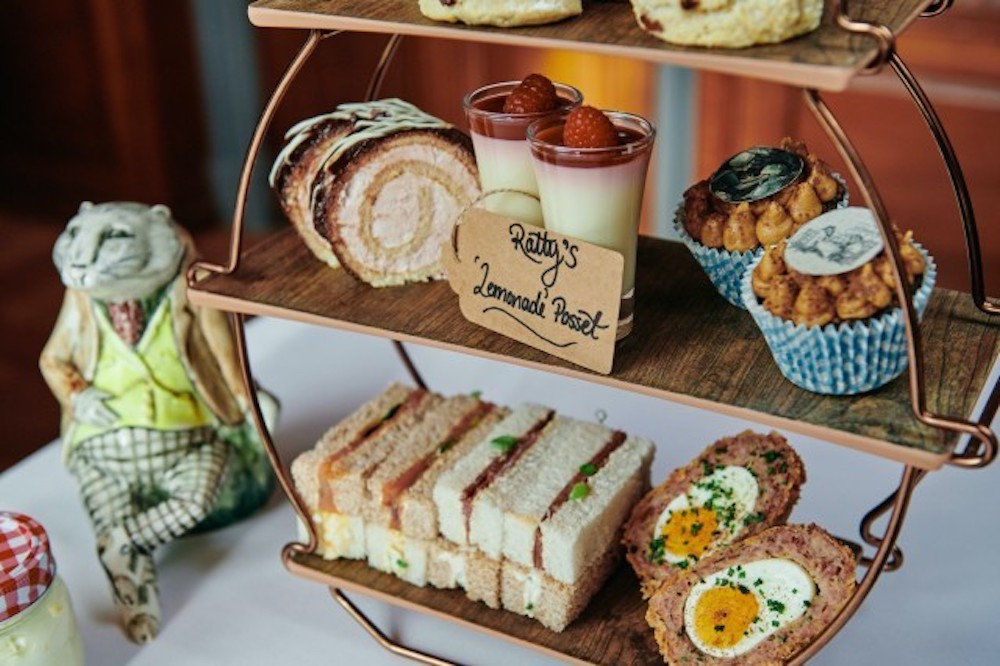 Ickworth wind in willows afternoon tea